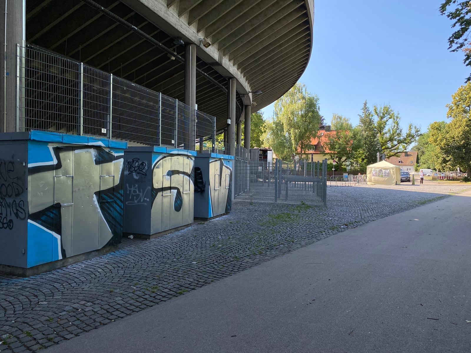 Grünwalder Stadion mit