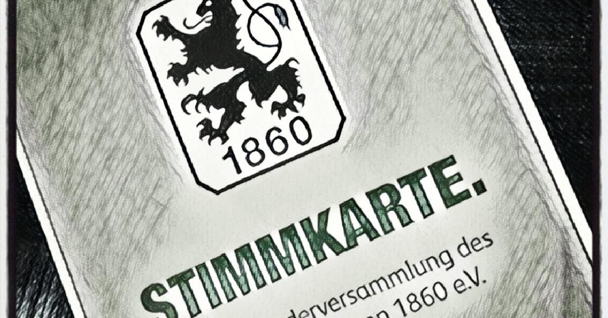 TSV 1860 Mitgliederversammlung