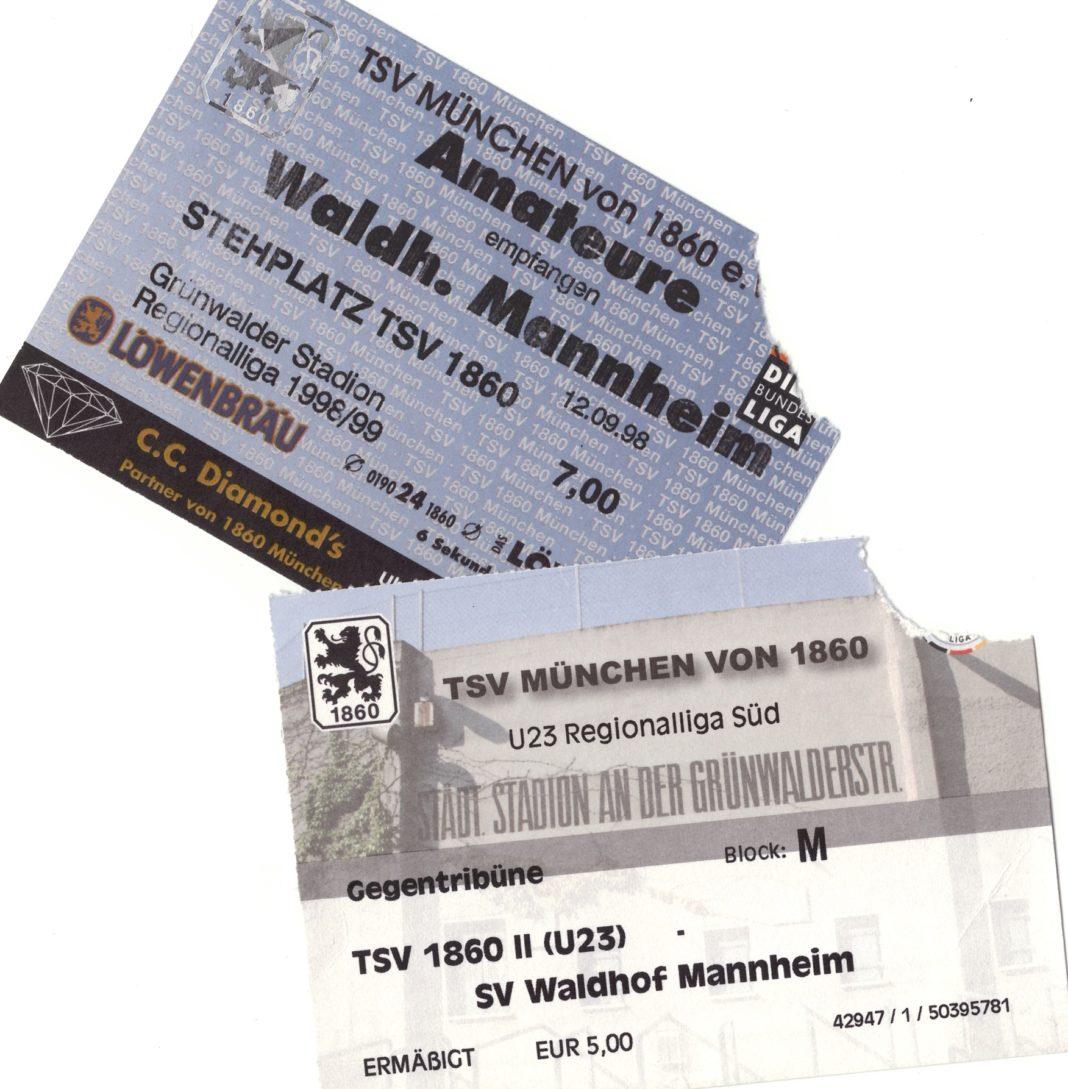 Tickets TSV 1860 München