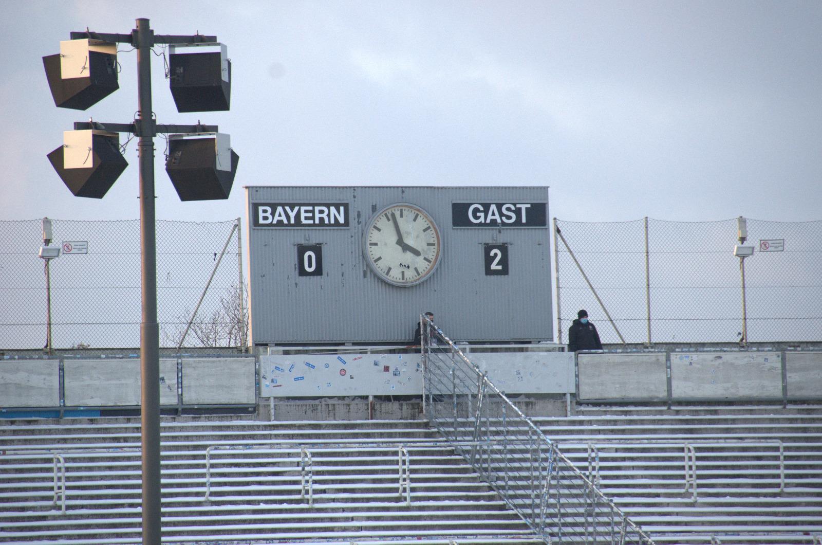 TSV 1860 Spielstand 2:0