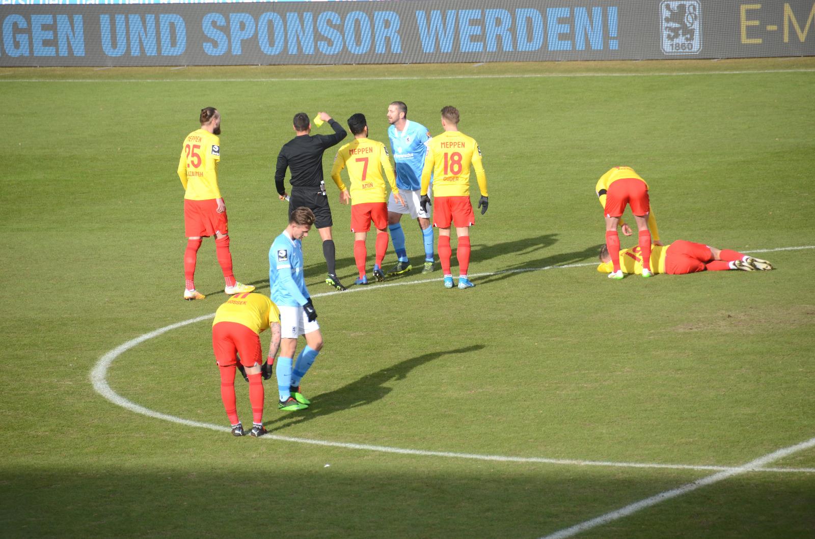 TSV 1860 Meppen Gelb Mölders