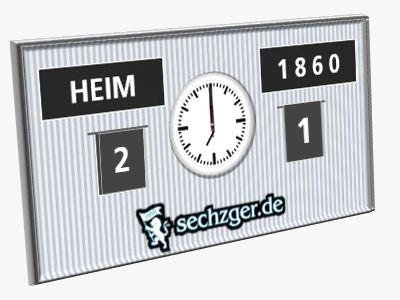 Saarbrücken TSV 1860 2:1