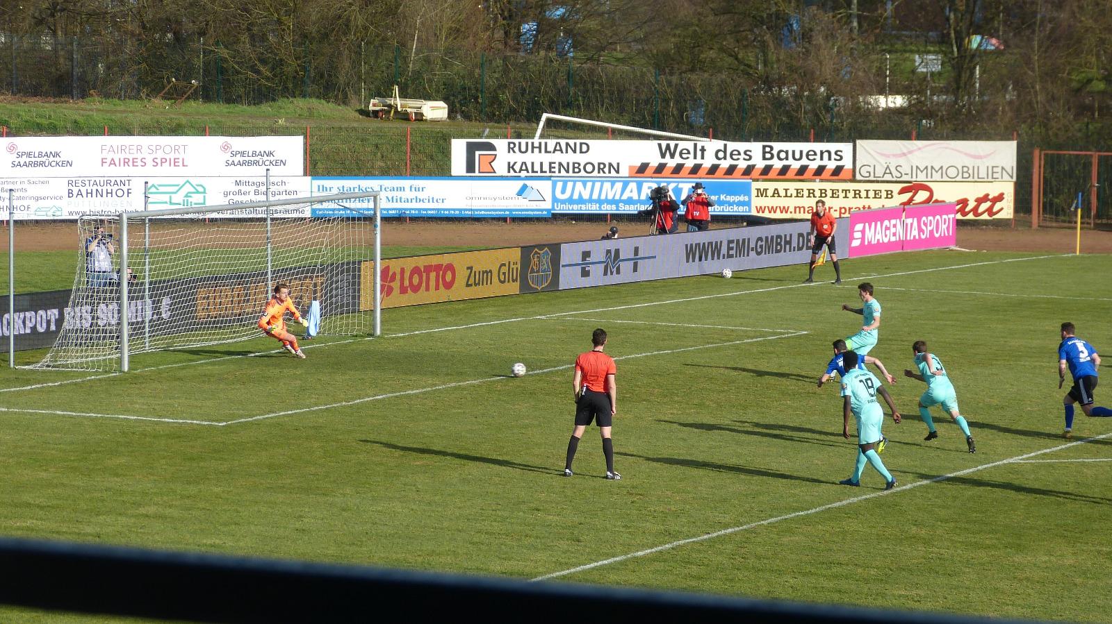 Saarbrücken TSV 1860 Batz hält gegen Steinhart