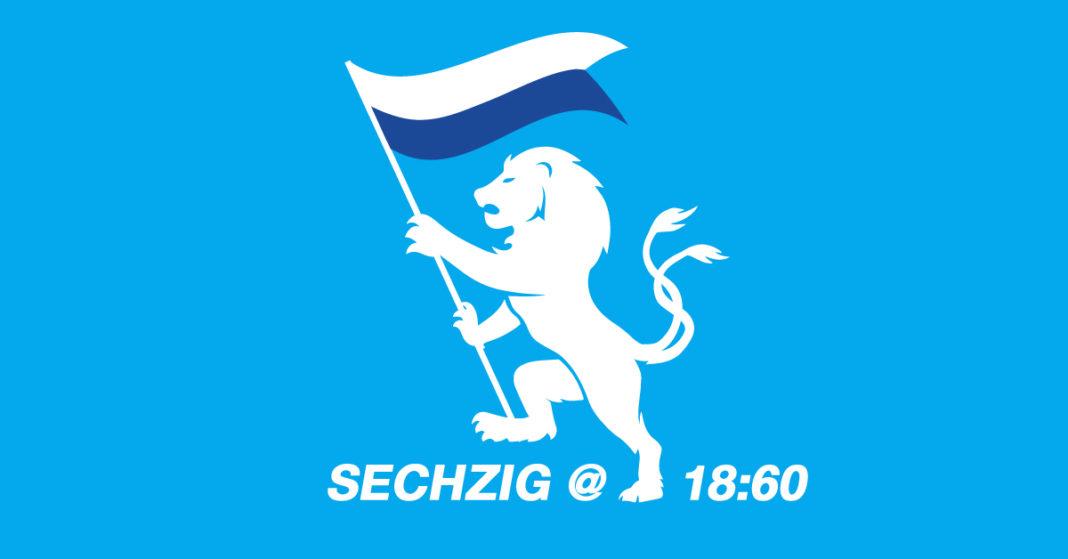 Sechzig @18:60 vor der Partie gegen den SC Verl