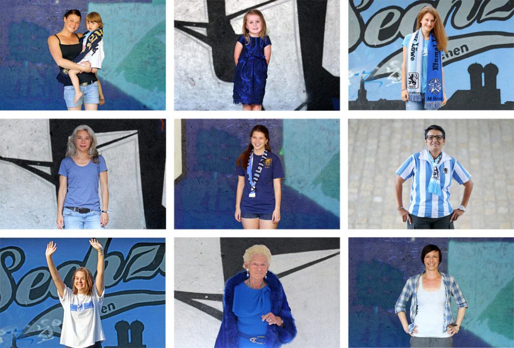 Sechzge Oide Frauen im Fußball Ausstellung