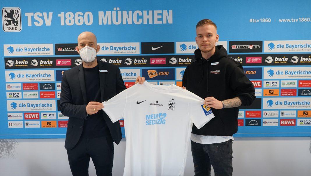 Daniel Wein verlängert Vertrag TSV 1860