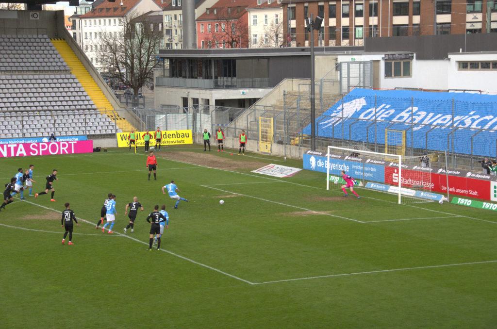 TSV 1860 FC Ingolstadt 04 Totopokal Ausgleich 1:1