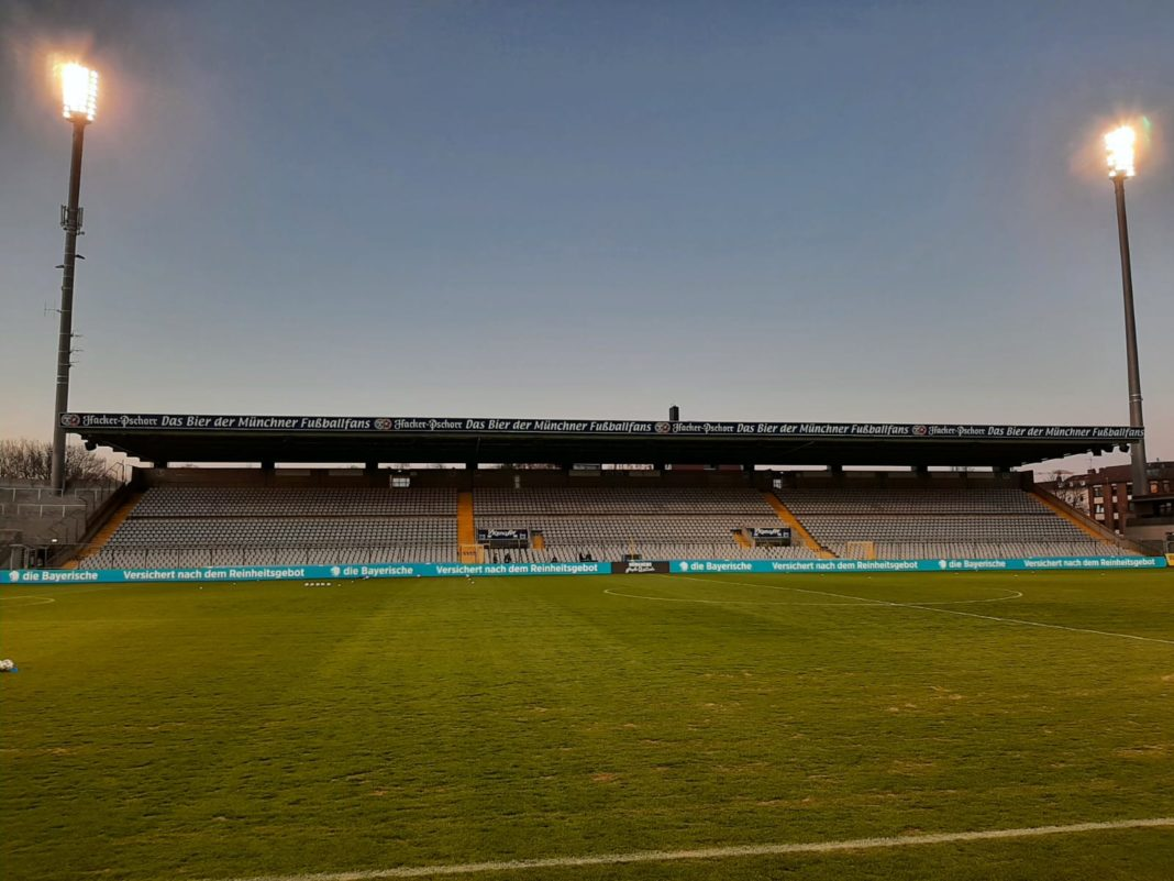 Grünwalder Stadion in München-Giesing