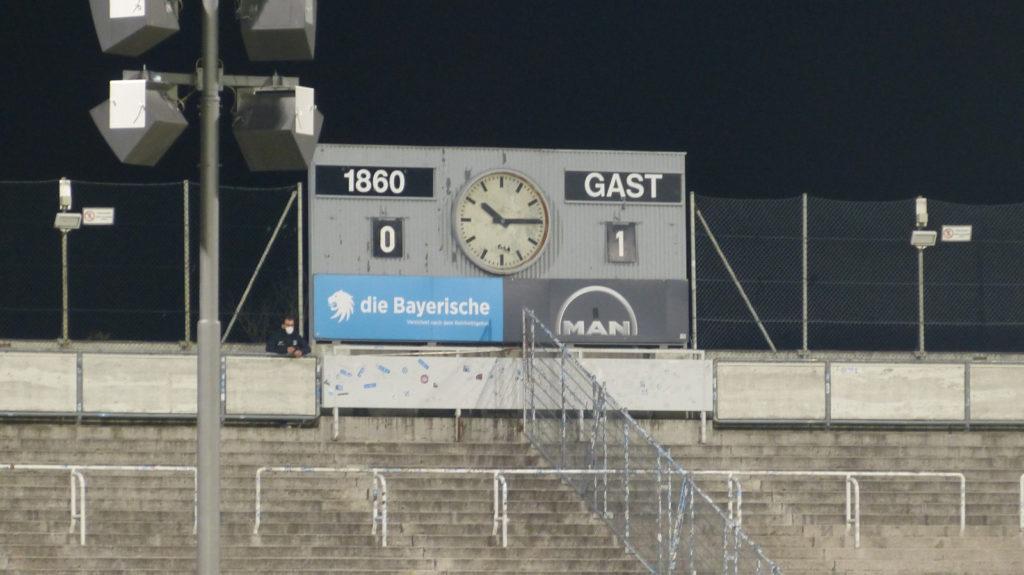 TSV 1860 München Türkgücü München 0:1 30.03.2021