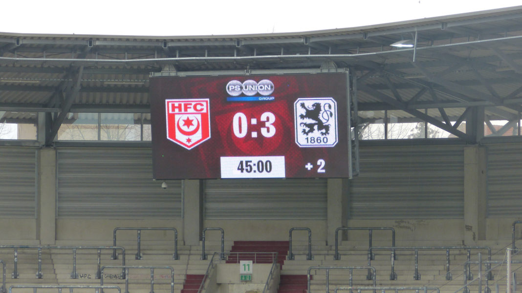 Hallescher FC - TSV 1860