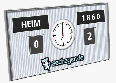 Türkgücü TSV 1860 0:2