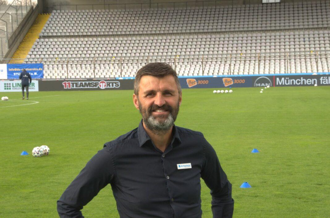 Michael Köllner, der TSV 1860 München mit Bart