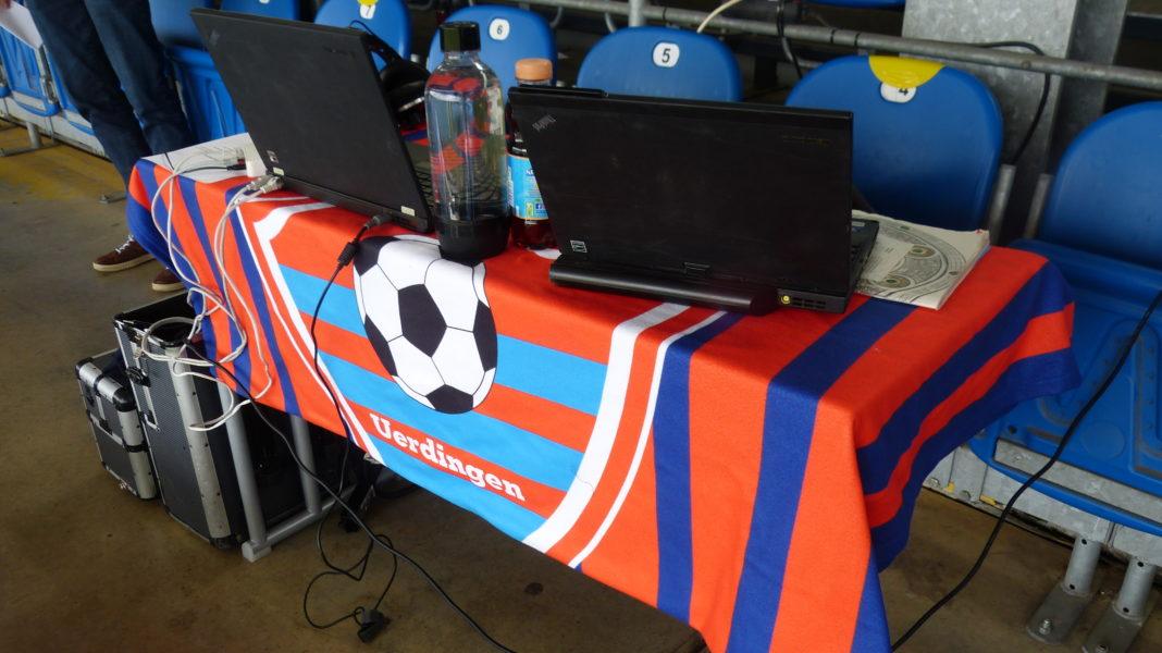 Fanradio des KFC Uerdingen in Lotte 3.Liga gegen den TSV 1860 München