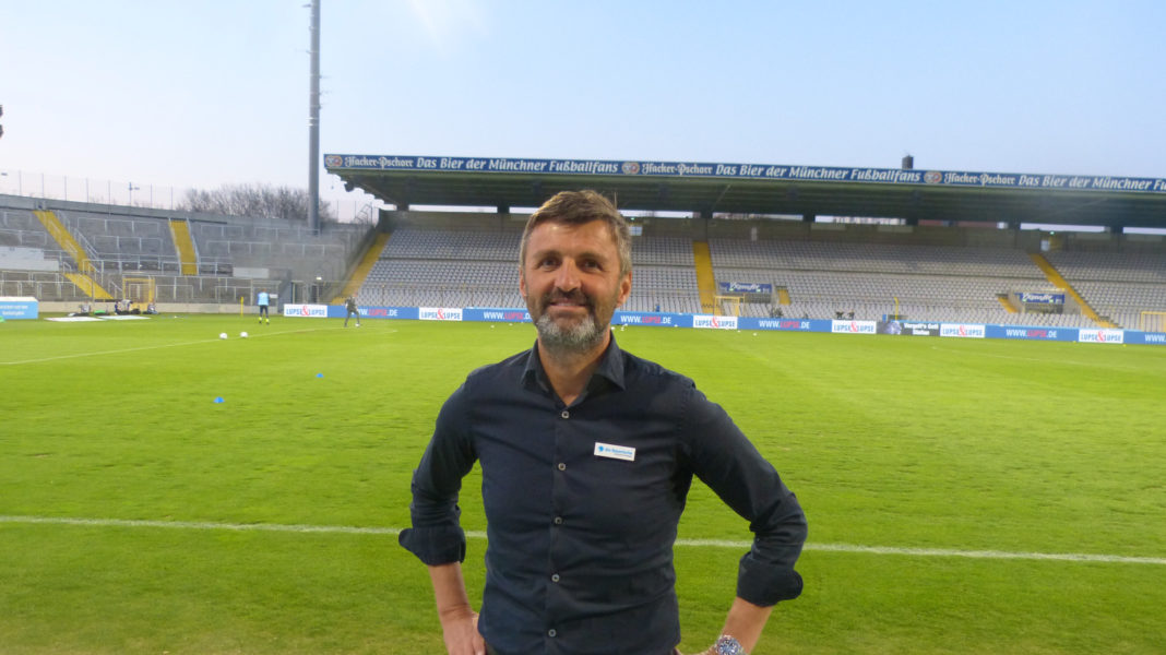 Michael Köllner im Grünwalder Stadion