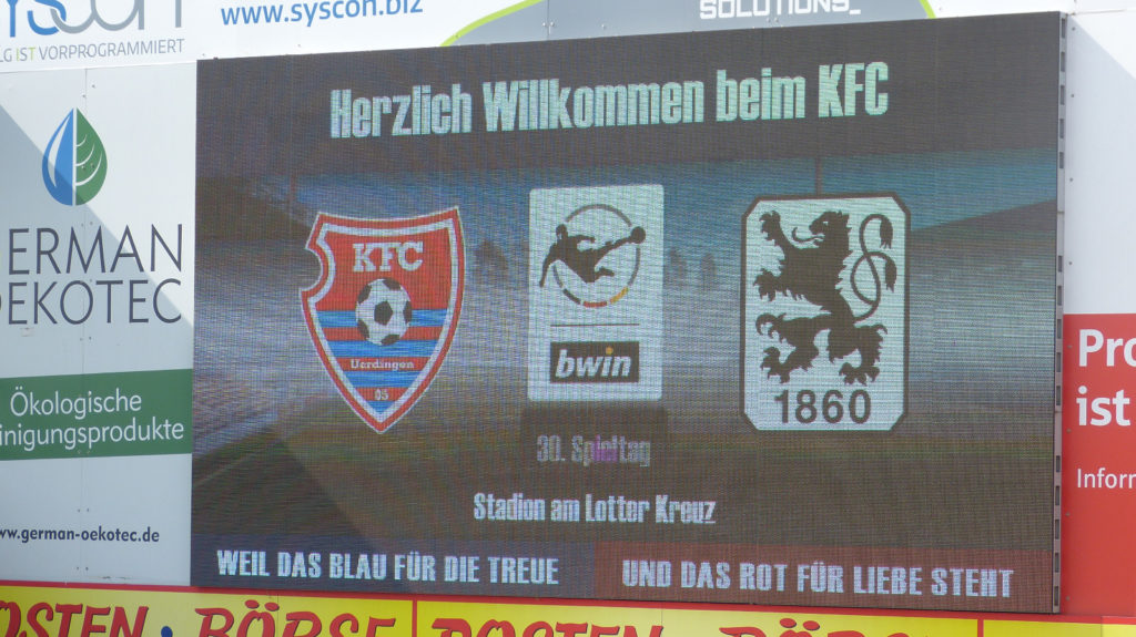 KFC Uerdingen TSV 1860 München