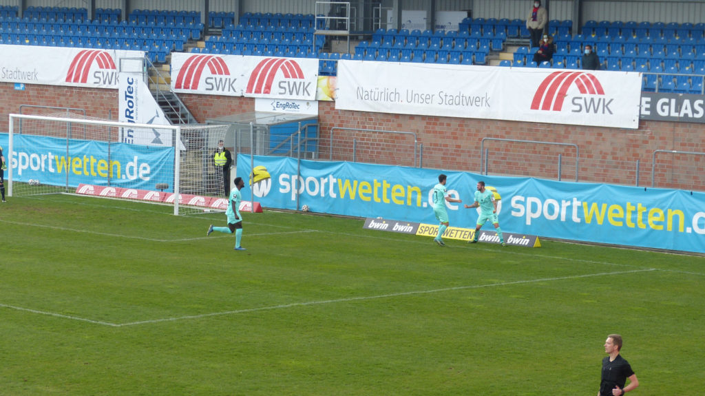 KFC Uerdingen TSV 1860 München Tor zum 0:3 03.04.2021