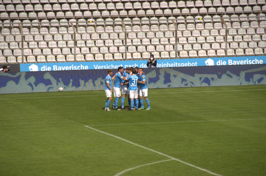 TSV 1860 bejubelt 2:1 gegen den SC Verl