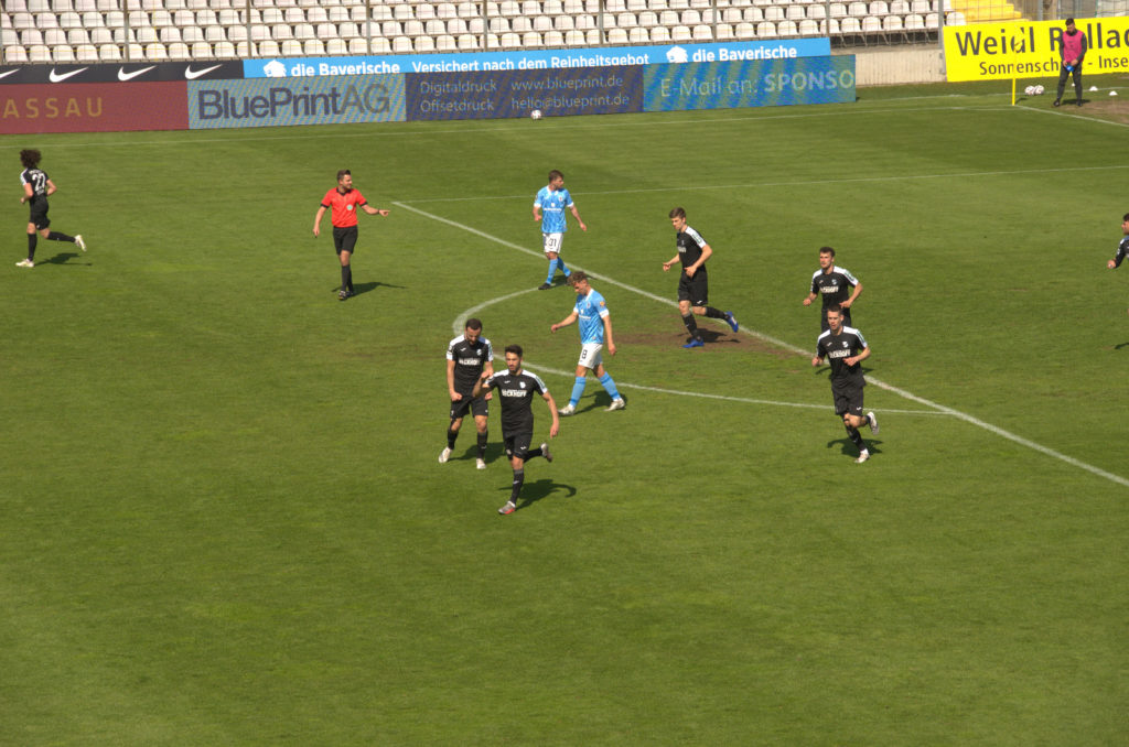 Ausgleich zum 2:2 vom SC Verl gegen den TSV 1860 München