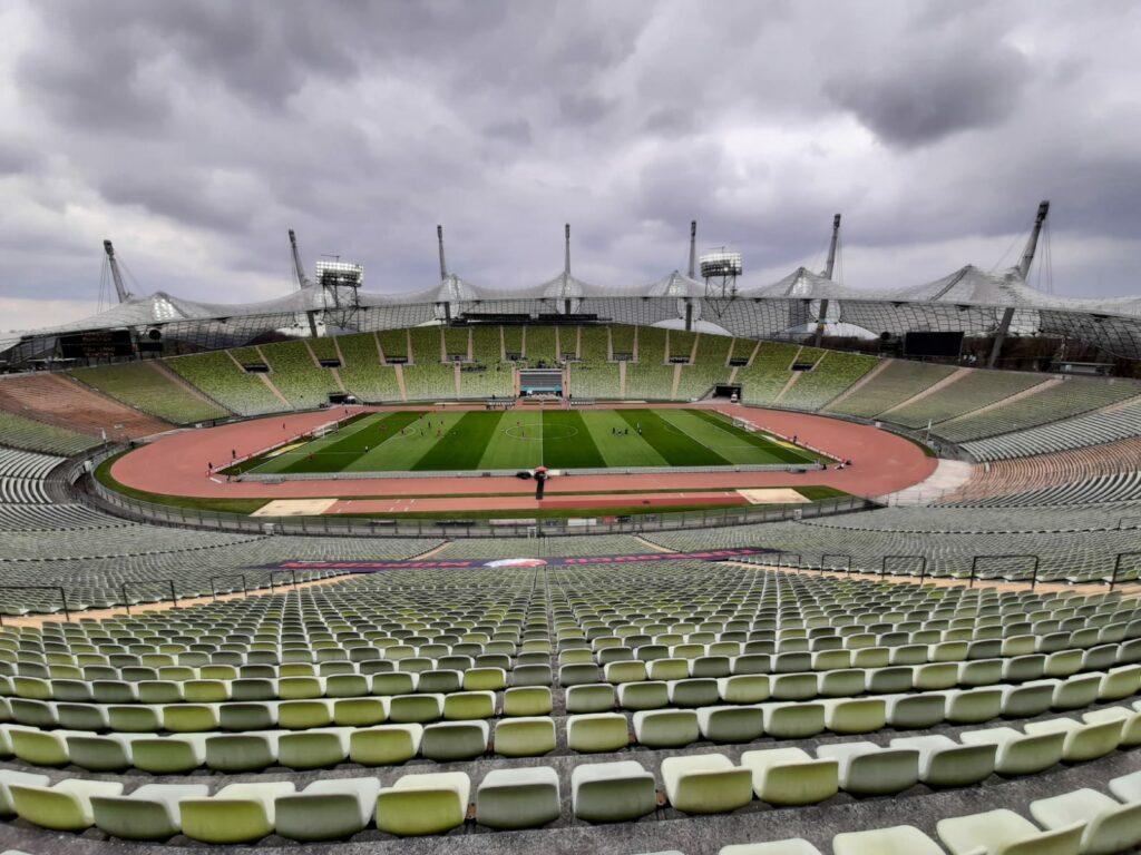 Olympiastadion bei Türkgügü gegen TSV 1860 München