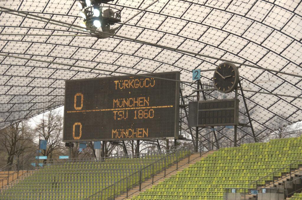 Halbzeitstand Türkgücü TSV 1860 München 0:0 17.04.2021