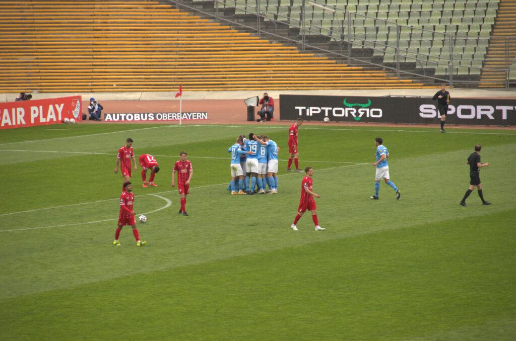 Türkgücü TSV 1860 Jubel zum 0:1