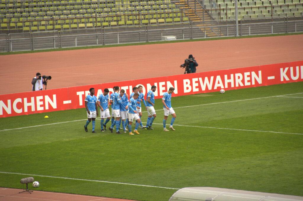 Tor Semi Belkahia gegen Türkgücü München 17.04.2021