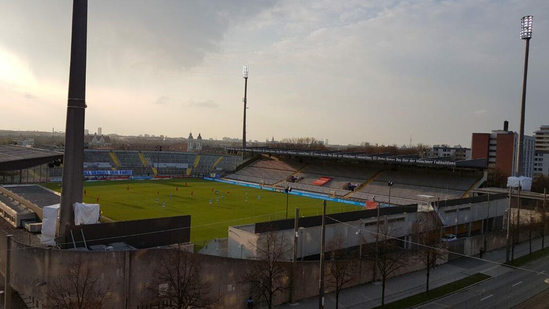 Grünwalder Stadion 20.04.2021 1860 Viktoria Köln