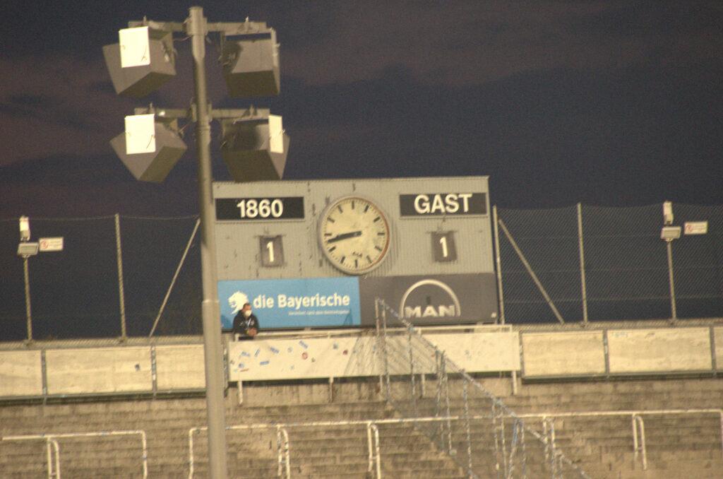 TSV 1860 Viktoria Köln Endstand 1:1