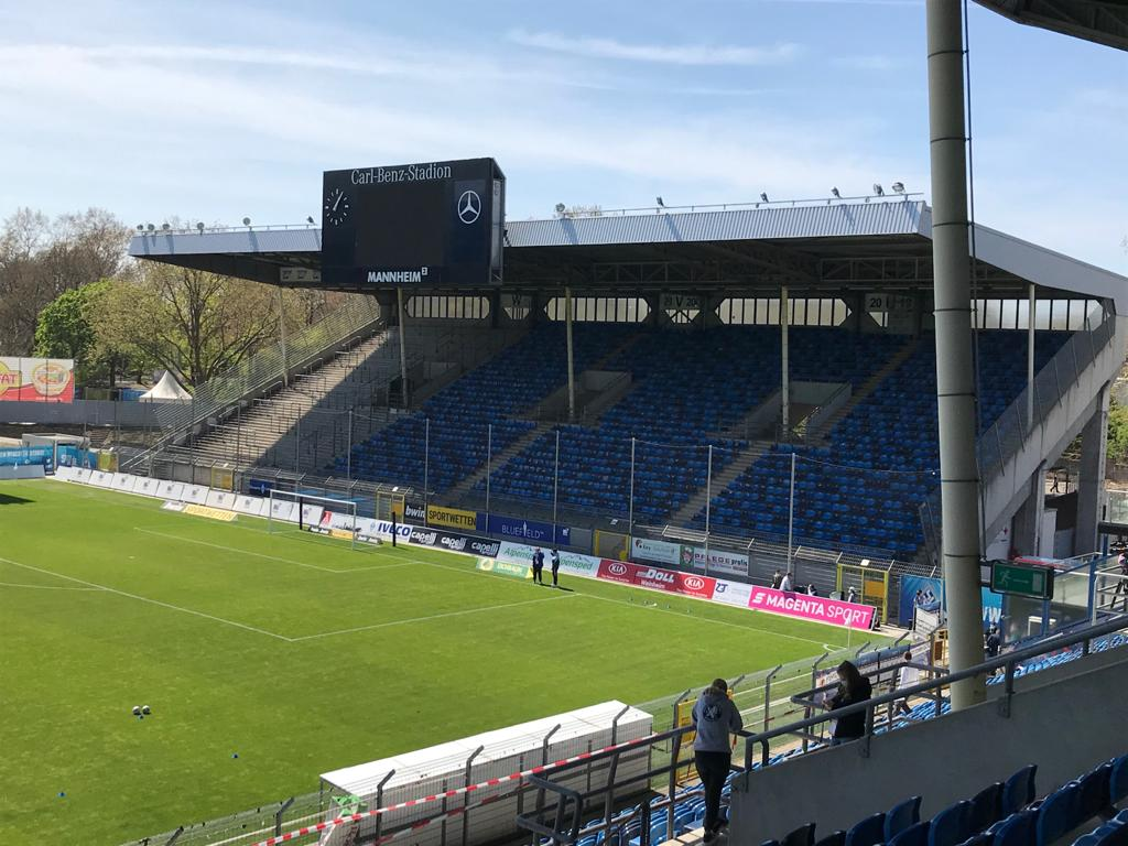 Waldhof Mannheim - TSV 1860 München 34.Spieltag 24.04.2021