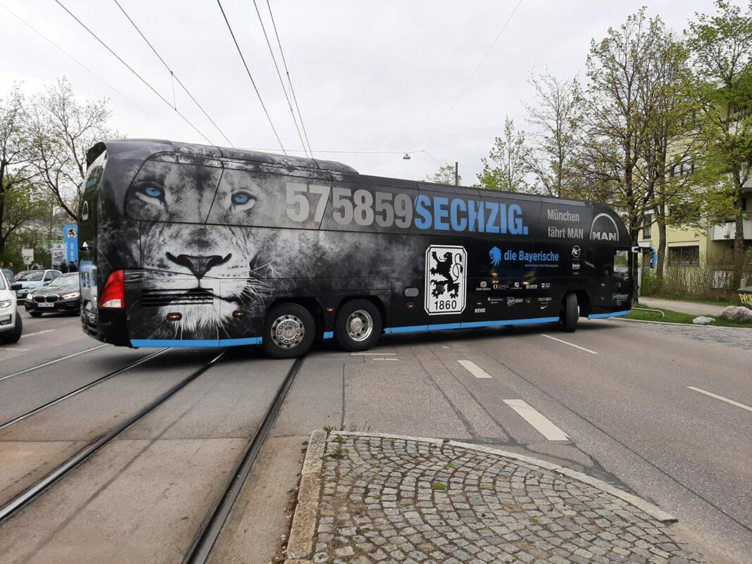 Mannschaftsbus TSV 1860 München