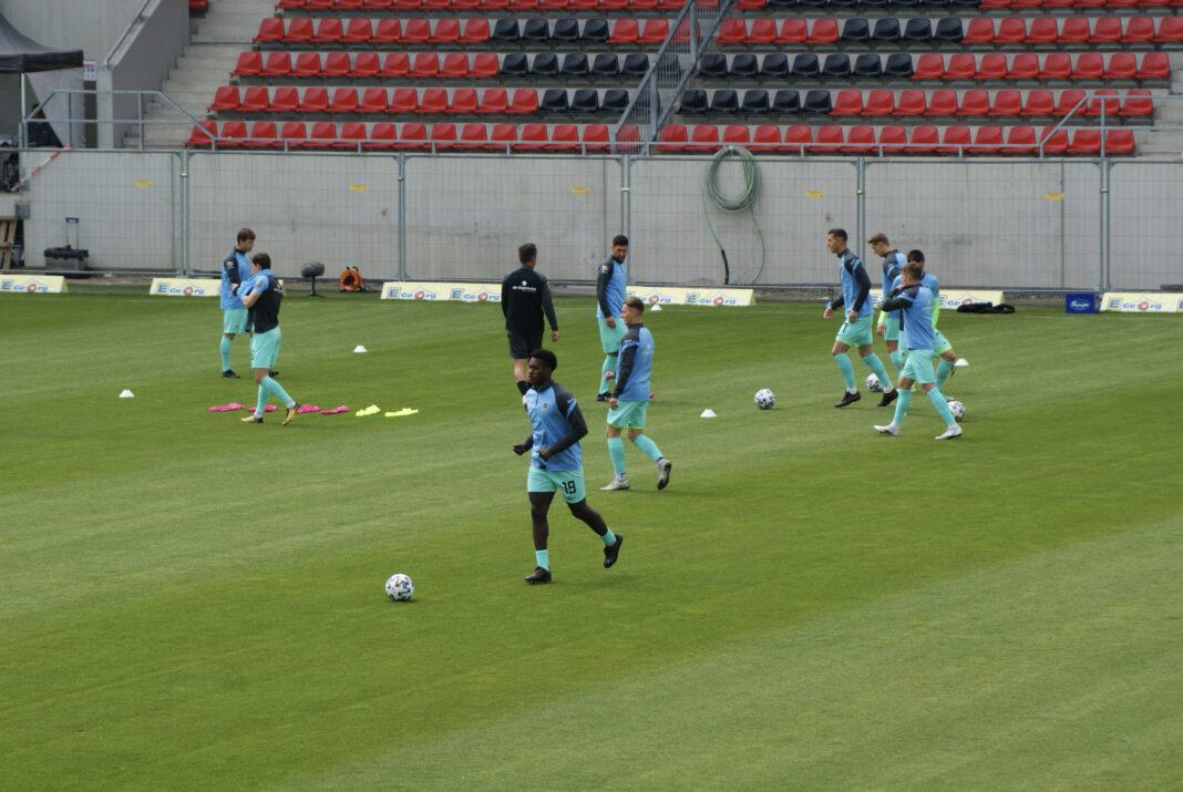 Aufwärmprogramm TSV 1860 München in Wiesbaden