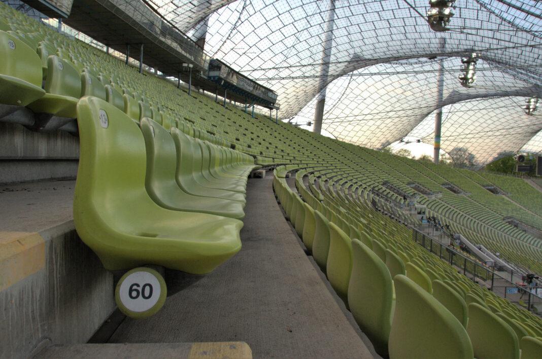 Reihe 60 im Olympiastadion München
