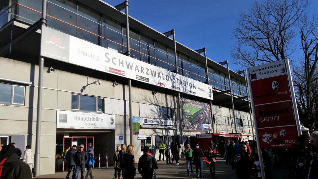 SC Freiburg altes Stadion