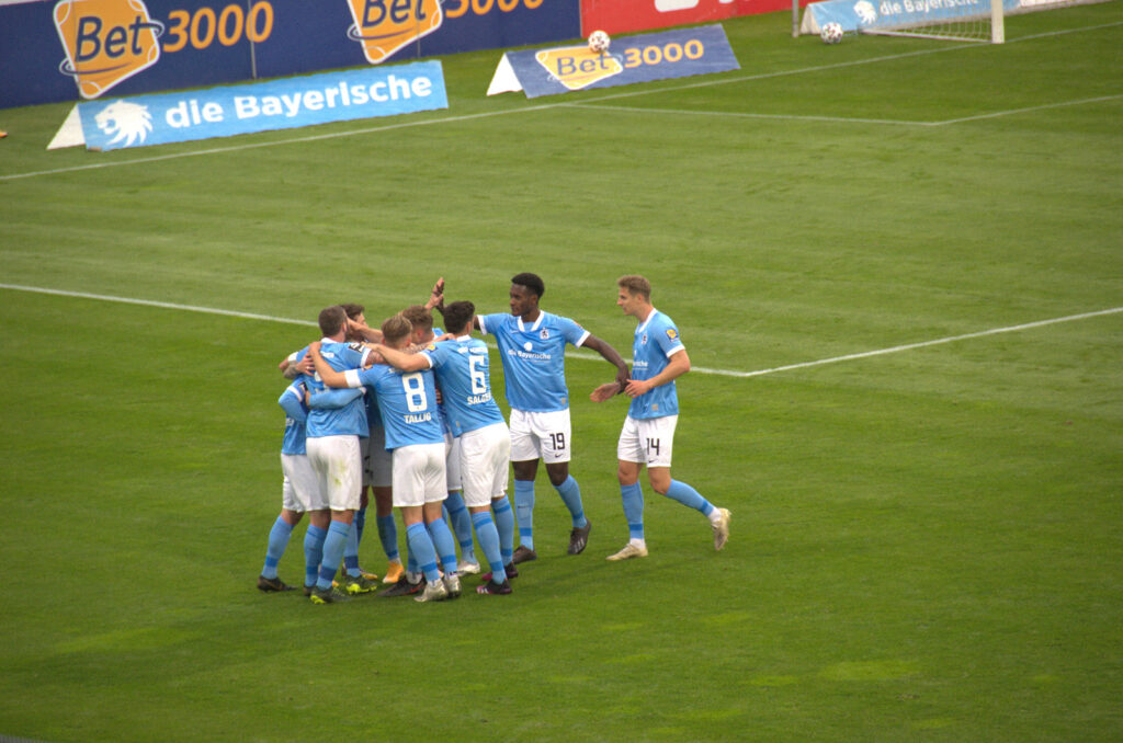 Tor Richard Neudecker TSV 1860 München 04.05.2021 Jubel