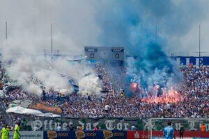 Pyrotechnik TSV 1860 München Saarbrücken 27.05.2018
