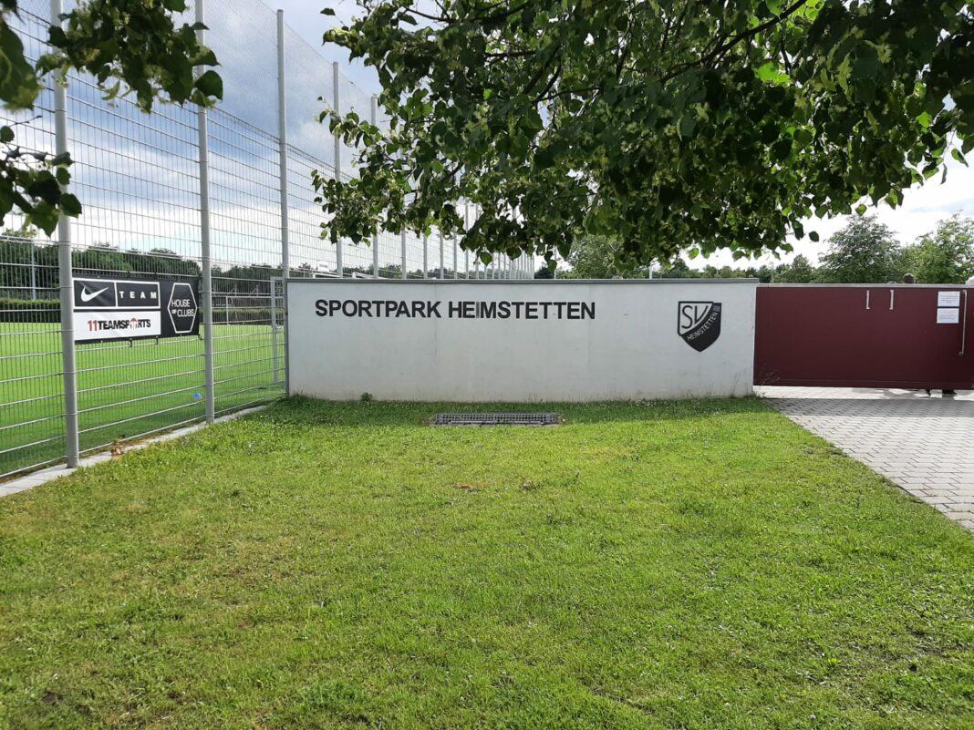 Sportpark Heimstetten beim Spiel gegen den TSV 1860 München