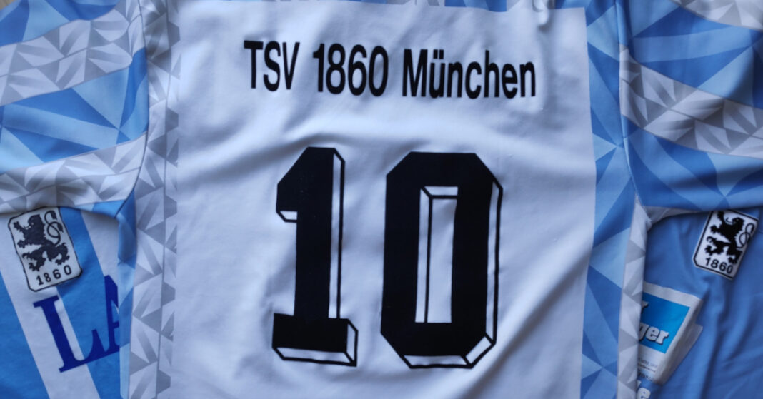 TSV 1860 Trikot Nummer 10