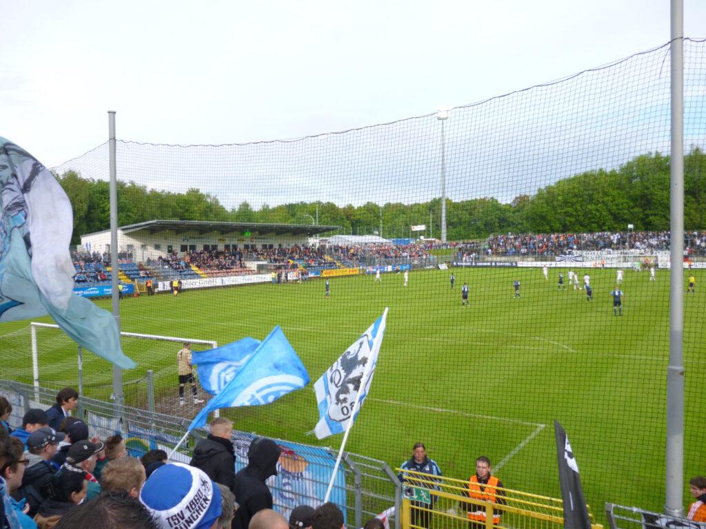 Stadion SV Elversberg Waldstadion Elversberg