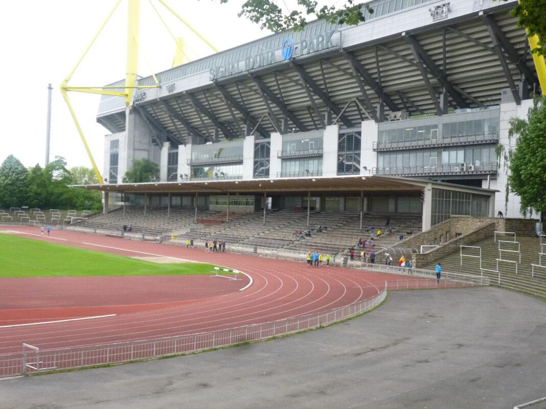 Stadion Rote Erde Spielort Dortmund II in der 3.Liga