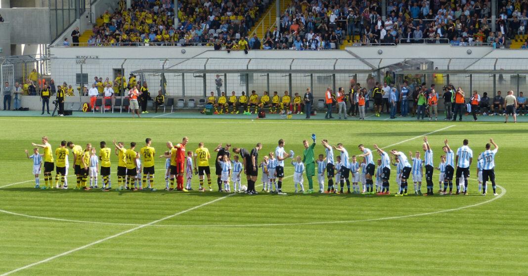 TSV 1860 - Borussia Dortmund: Gleich gehts los!