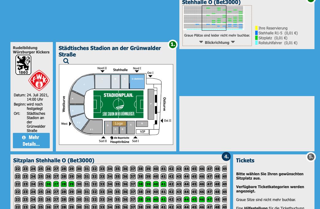 TSV 1860 Würzburg Tickets