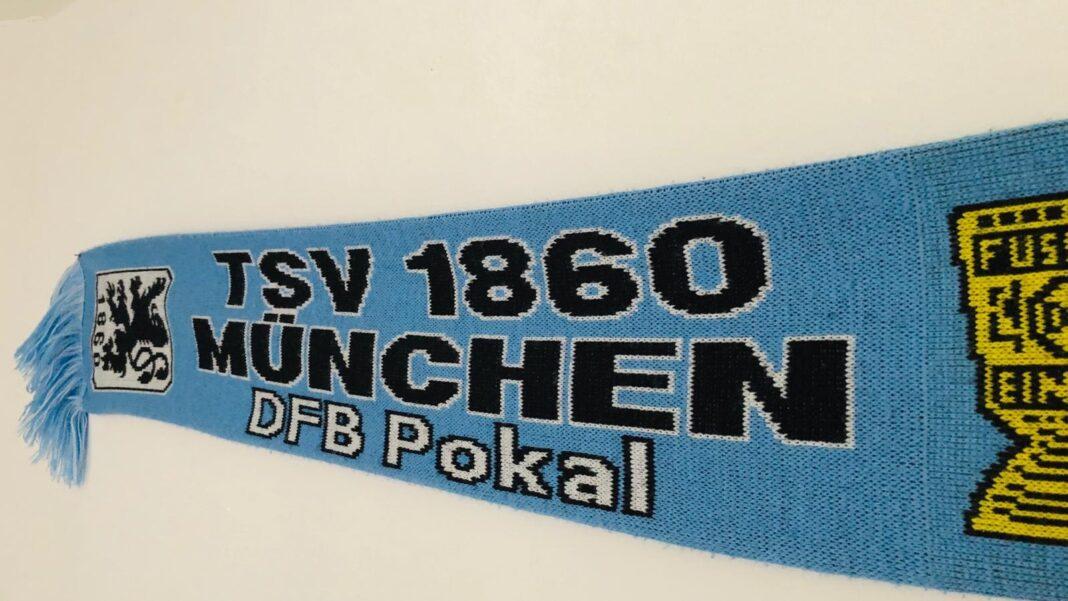 TSV 1860 München DFP-Pokal Fan-Schal