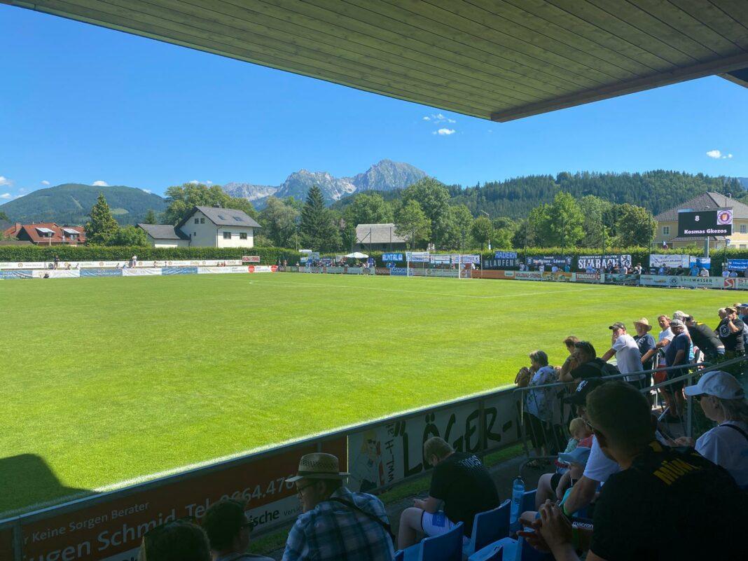 Testspiel TSV 1860 München - Austria Klagenfurt inn Windischgarsten
