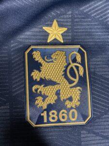 tsv 1860 Auswärtstrikot Wappen