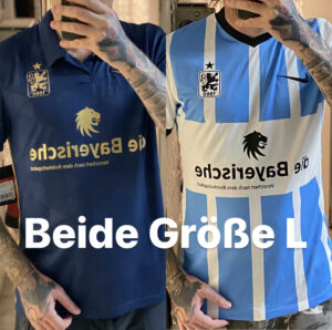 TSV 1860 Trikot, Saison 2021/22, Größenvergleich
