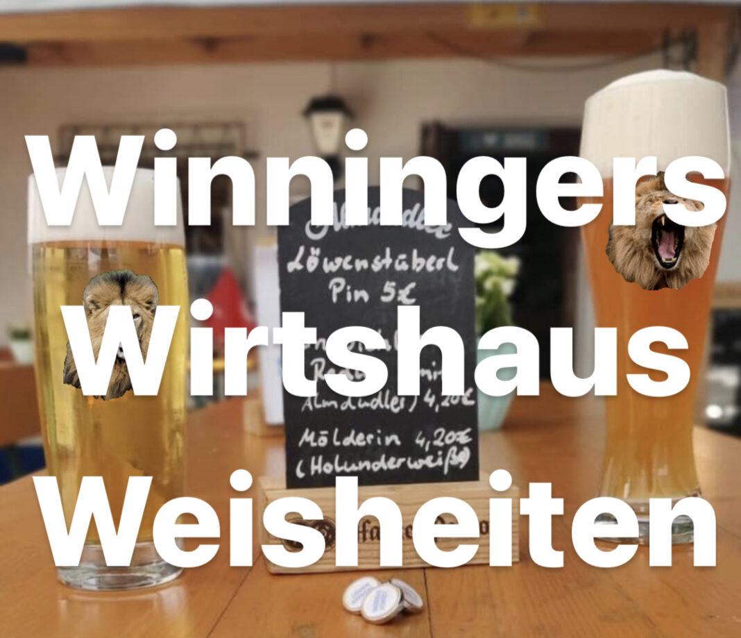 Bernd Winninger Wirtshaus Weisheiten