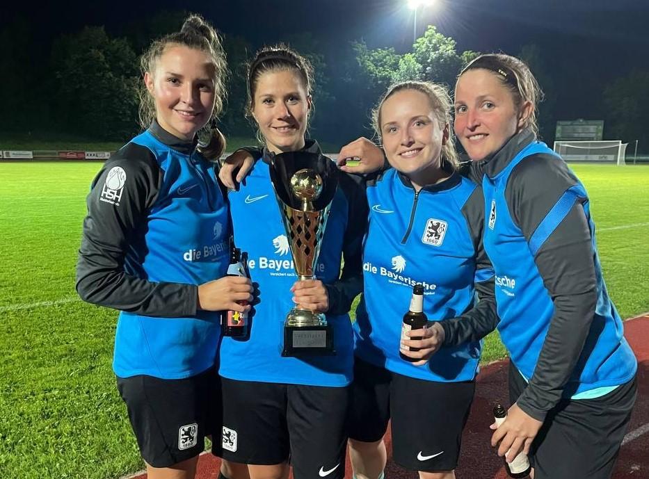 TSV 1860 Frauen gewinnen Turnier in Aschheim
