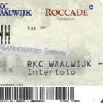 RKC Waalwijk - TSV 1860 Ticket