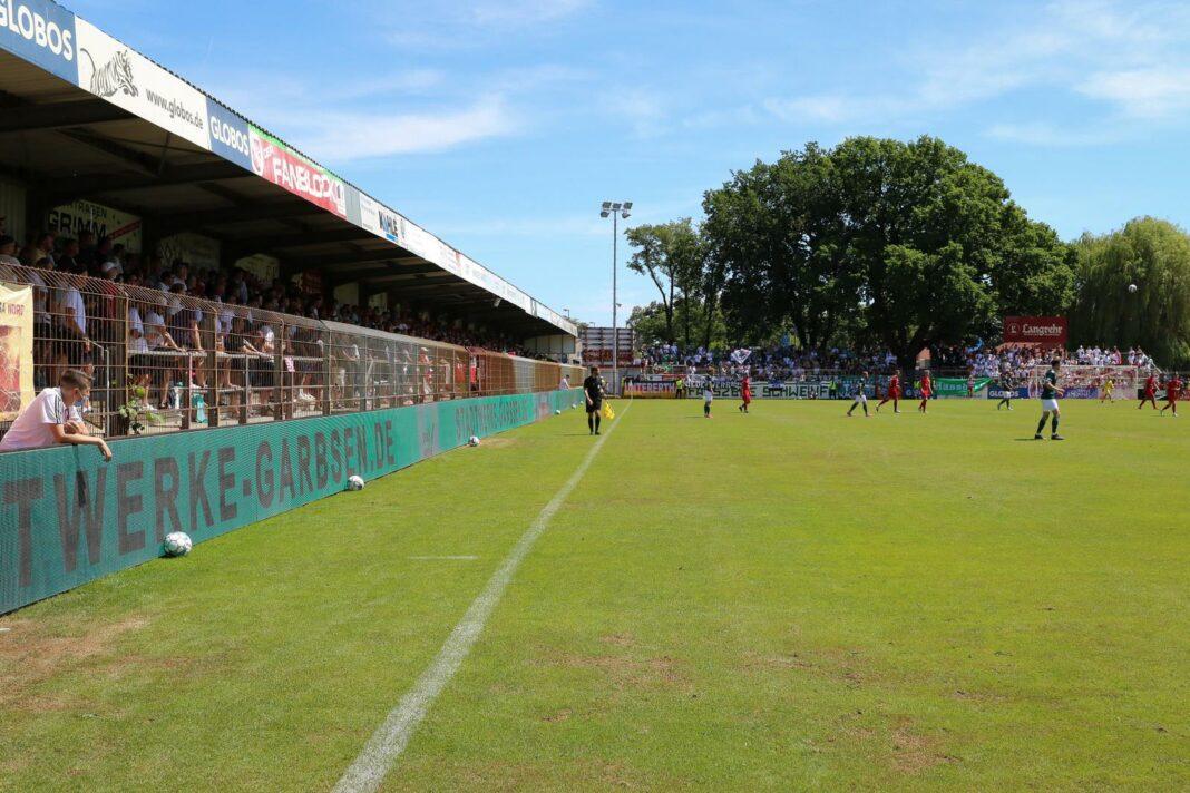 Wilhelm-Langrehr-Stadion Havelse, Heimstätte und Stadion des TSV Havelse
