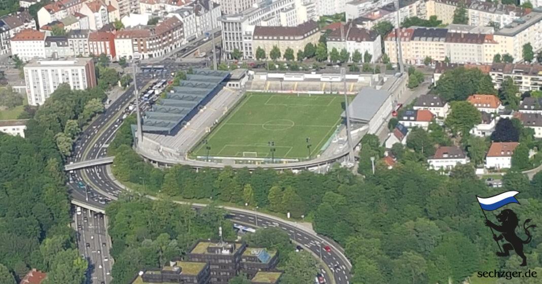 Luftaufnahme Grünwalder Stadion